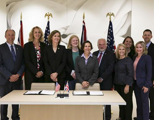 US, UK law enforcement sign proclamation against female genital mutilation/cutting