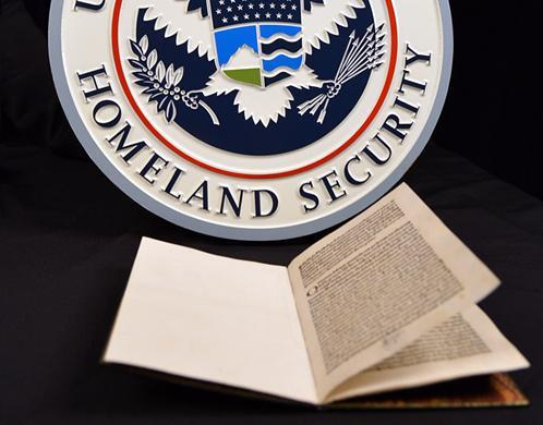 DHS Seal and Letter