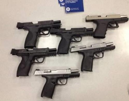 Chicago-area man sentenced to 18 months for conspiring to 'straw purchase' handguns for illegal export to Egypt