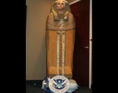 ICE makes arrests and seizes cultural artifacts stolen from Egypt