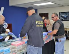 ICE, federal and local partners, seize 300 kilograms of cocaine in Puerto Rico