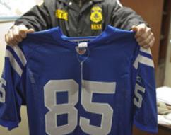 Counterfeit football jersery