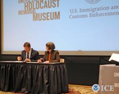 ICE transfers lost Nazi diary to US Holocaust Memorial Museum