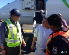 ICE removes man wanted on aggravated homicide charges to El Salvador