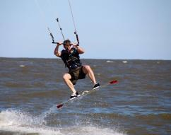 ERO deportation officer shares his passion for wind sports with wounded warriors