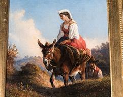 Painting by Consalvo Carelli