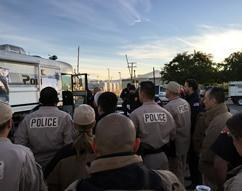 The Team being briefed during the San Bernardino shooting incident, 2015