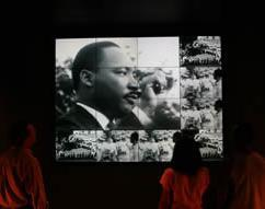 Museum of Tolerance Exhibit - Photo Credit: Bart Bartholomew, Simon Wiesenthal Center