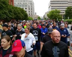 ICE employees participate in National Police Week 5K