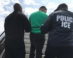 ICE removes El Salvadoran Mara Salvatrucha Gang Member Wanted for Criminal Conspiracy