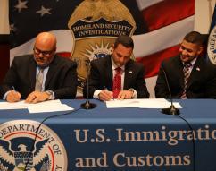 Signing with SAC Melendez and Lippolis bros of Superior Washer & Gasket