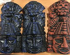 Los Angeles-area methamphetamine trafficking ring allegedly shipped drugs to Hawaii disguised as Aztec calendars and statues