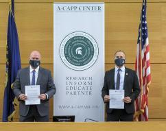 IPR Center, Michigan State University partner on anti-counterfeiting efforts