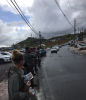 ICE personnel on the ground in Puerto Rico.