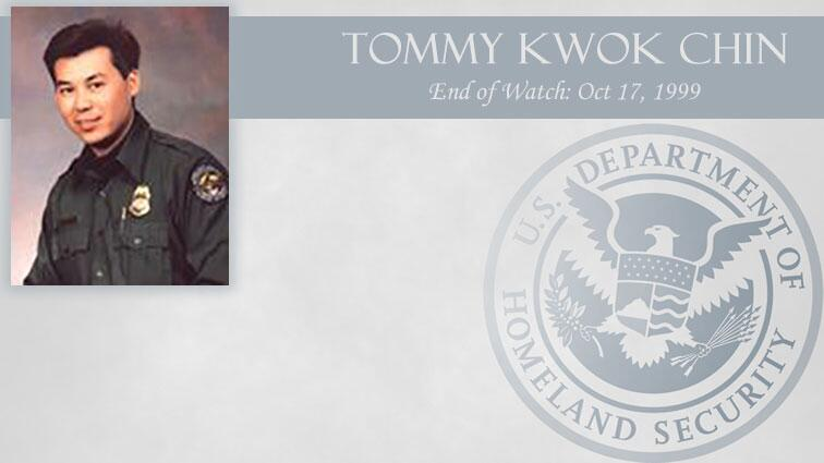 Tommy Kwok Chin: End of Watch Oct 17, 1999