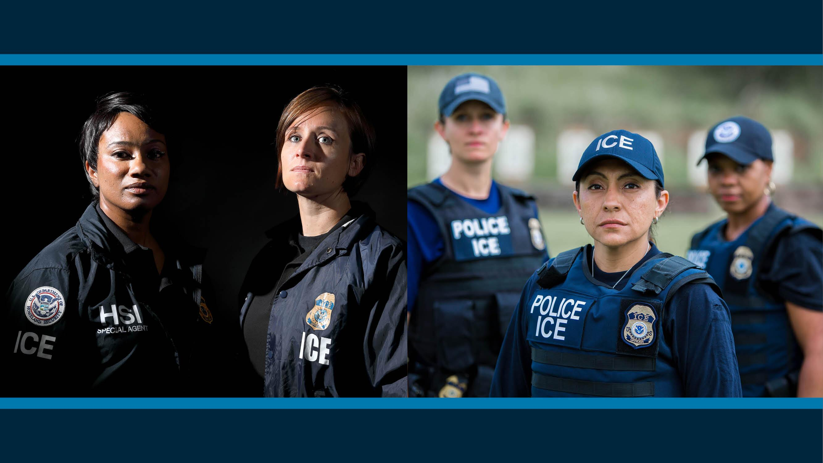 ... Her Job Every Day, HSI Special Agent Ellen Pierson Paid Tribute To  Officers Killed In The Line Of Duty, And How ICE Recognizes Womenu0027s History  Month.